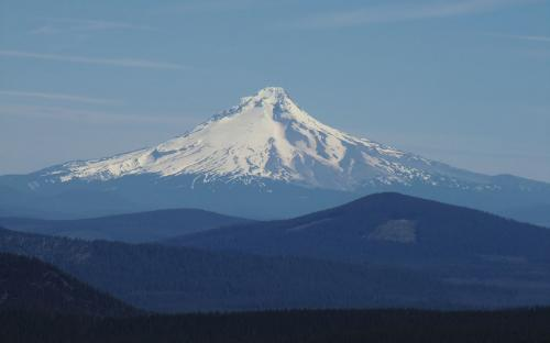 Mount Hood from Bear Point, Oregon
