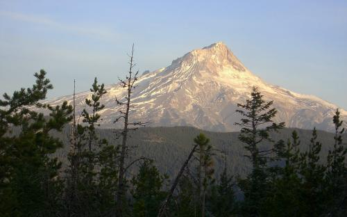 Mount Hood from Grasshopper Point, Oregon