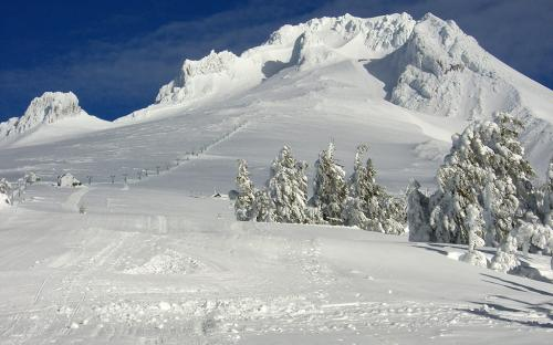 Mount Hood from Timberline Lodge, Oregon