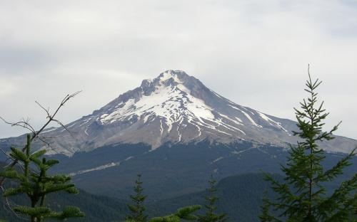 Mount Hood from Veda Lake Trail, Oregon
