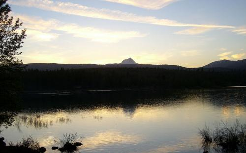Rock Creek Reservoir - Mount Hood National Forest, Oregon