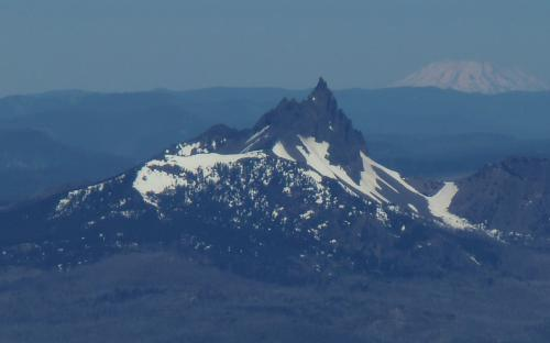 Three Fingered Jack from North Sister, Oregon