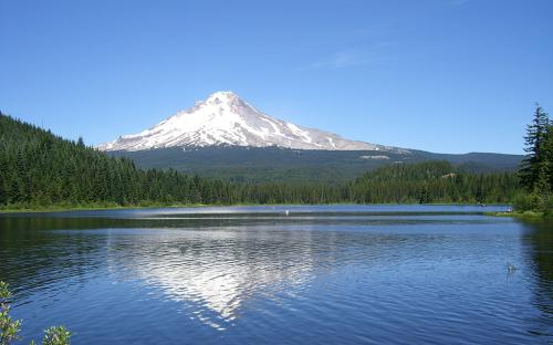 Trilium Lake - Mount Hood National Forest, Oregon