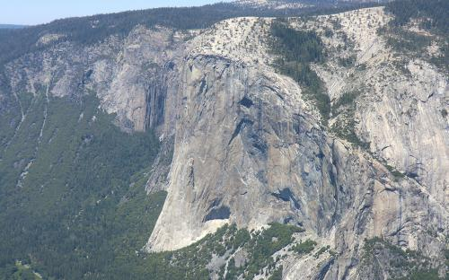 El Capitan from Taft Point - Yosemite, CA