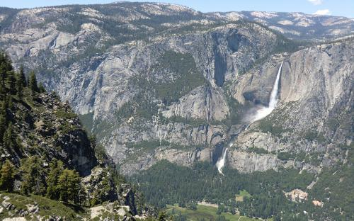 Yosemite Falls from Glacier Point
