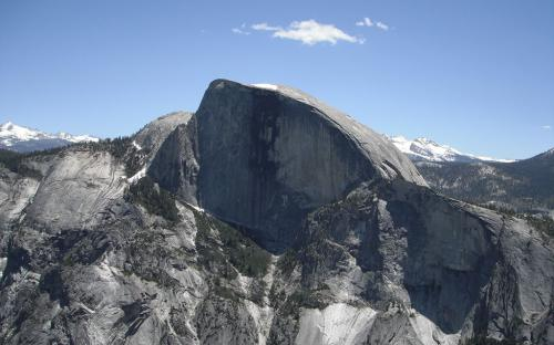 Half Dome from North Dome - Yosemite, CA