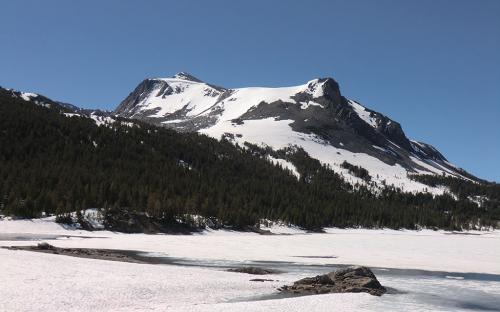 Mount Dana from Tioga Lake - Yosemite, CA