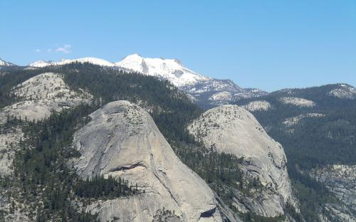 North Dome and Basket Dome - Yosemite, CA